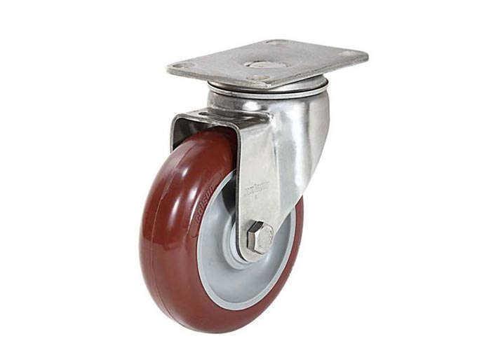 不锈钢底板型-活动式/固定式脚轮