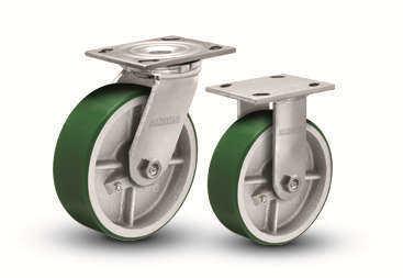 奥奔16系列底板型-活动式/固定式脚轮